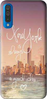Always New York Case for Samsung Galaxy A50