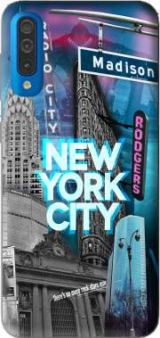 New York City II [blue] Case for Samsung Galaxy A50