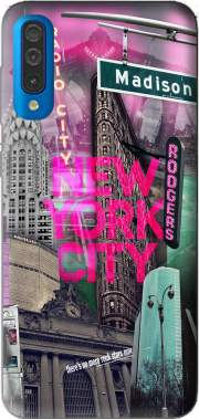 New York City II [pink] Case for Samsung Galaxy A50