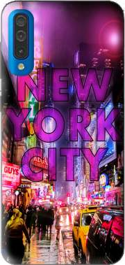 New York City - Broadway Color Case for Samsung Galaxy A50