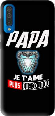 Papa je taime plus que 3x1000 Case for Samsung Galaxy A50