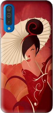 Sakura Asian Geisha Case for Samsung Galaxy A50