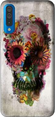 Skull Flowers Gardening Case for Samsung Galaxy A50
