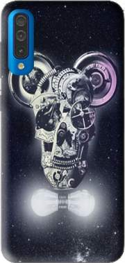 Skull Mickey Mechanics in space Case for Samsung Galaxy A50