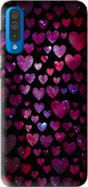 Space Hearts Case for Samsung Galaxy A50