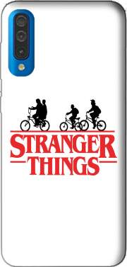 Stranger Things by bike Case for Samsung Galaxy A50