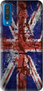 Union Jack Painting Case for Samsung Galaxy A50