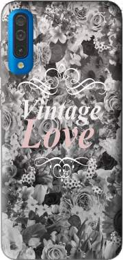 Vintage love in black and white Case for Samsung Galaxy A50