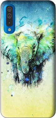 watercolor elephant Case for Samsung Galaxy A50