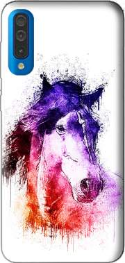 watercolor horse Case for Samsung Galaxy A50