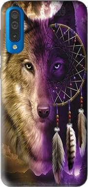 Wolf Dreamcatcher Samsung Galaxy A50 Case
