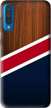 Wooden New England for Samsung Galaxy A50