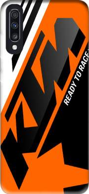 KTM Racing Orange And Black Case for Samsung Galaxy A70