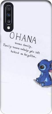 Ohana Means Family Case for Samsung Galaxy A70