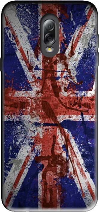 Case Samsung Galaxy C8 with pictures flag