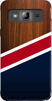 Wooden New England Case for Samsung Galaxy J3