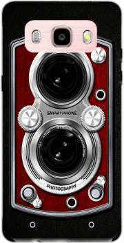 Vintage Camera Red Case for Samsung Galaxy J5 (2016)