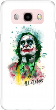Watercolor Joker Clown Samsung Galaxy J5 (2016) Case