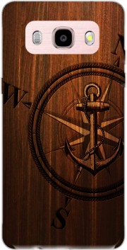 Wooden Anchor Case for Samsung Galaxy J5 (2016)