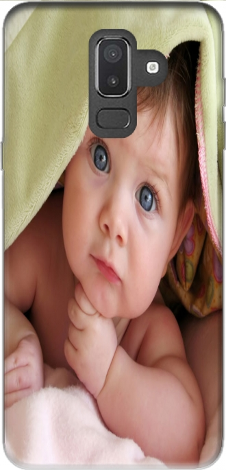 Case Samsung Galaxy J8 2018 with pictures baby