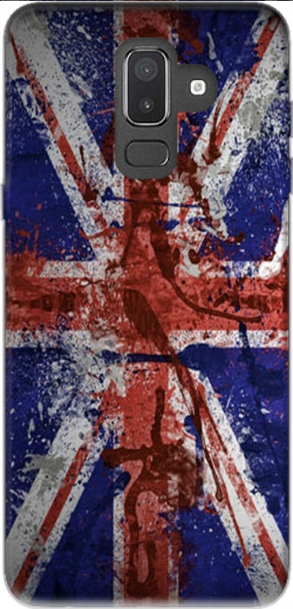 Case Samsung Galaxy J8 2018 with pictures flag