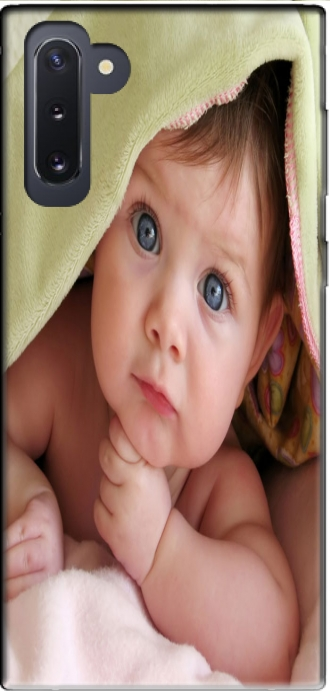 Silicone Samsung Galaxy Note 10 with pictures baby