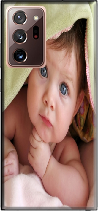 Case Samsung Galaxy Note 20 Ultra with pictures baby