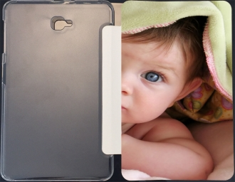Case Samsung Galaxy Tab A 10.1 (2016) with pictures baby