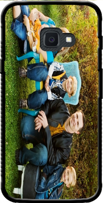 Silicone Samsung Galaxy Xcover 4s with pictures family