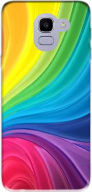 Rainbow Abstract Case for Samsung Galaxy J6 2018