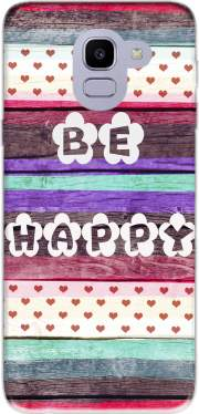 Be Happy Hippie Case for Samsung Galaxy J6 2018