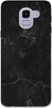 Black Marble Samsung Galaxy J6 2018 Case