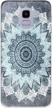 Bohochic Mandala in Blue Case for Samsung Galaxy J6 2018