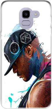 Booba Fan Art Rap Case for Samsung Galaxy J6 2018