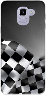Checkered Flags Case for Samsung Galaxy J6 2018