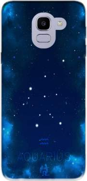 Constellations of the Zodiac: Aquarius Case for Samsung Galaxy J6 2018