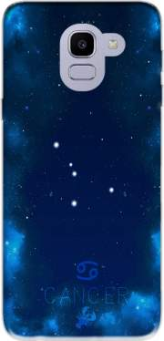 Constellations of the Zodiac: Cancer Case for Samsung Galaxy J6 2018