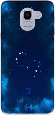 Constellations of the Zodiac: Gemini Case for Samsung Galaxy J6 2018