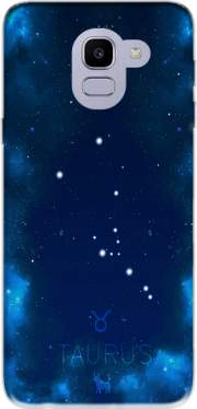 Constellations of the Zodiac: Taurus Samsung Galaxy J6 2018 Case