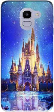 Disneyland Castle Samsung Galaxy J6 2018 Case