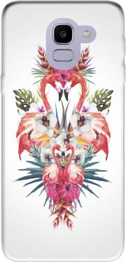 Flamingos Tropical Case for Samsung Galaxy J6 2018