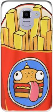 French Fries by Fortnite Case for Samsung Galaxy J6 2018