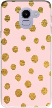 Golden Dots And Pink Case for Samsung Galaxy J6 2018