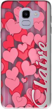 Heart Love - Claire Case for Samsung Galaxy J6 2018