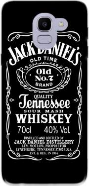 Jack Daniels Fan Design Case for Samsung Galaxy J6 2018