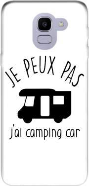 Je peux pas jai camping car Case for Samsung Galaxy J6 2018