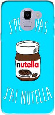 Je peux pas jai nutella Case for Samsung Galaxy J6 2018