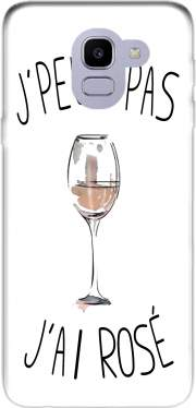 Je peux pas jai rose Vin Case for Samsung Galaxy J6 2018