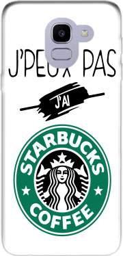 Je peux pas jai starbucks coffee Samsung Galaxy J6 2018 Case
