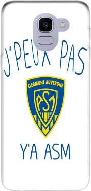 Je peux pas ya ASM - Rugby Clermont Auvergne Case for Samsung Galaxy J6 2018